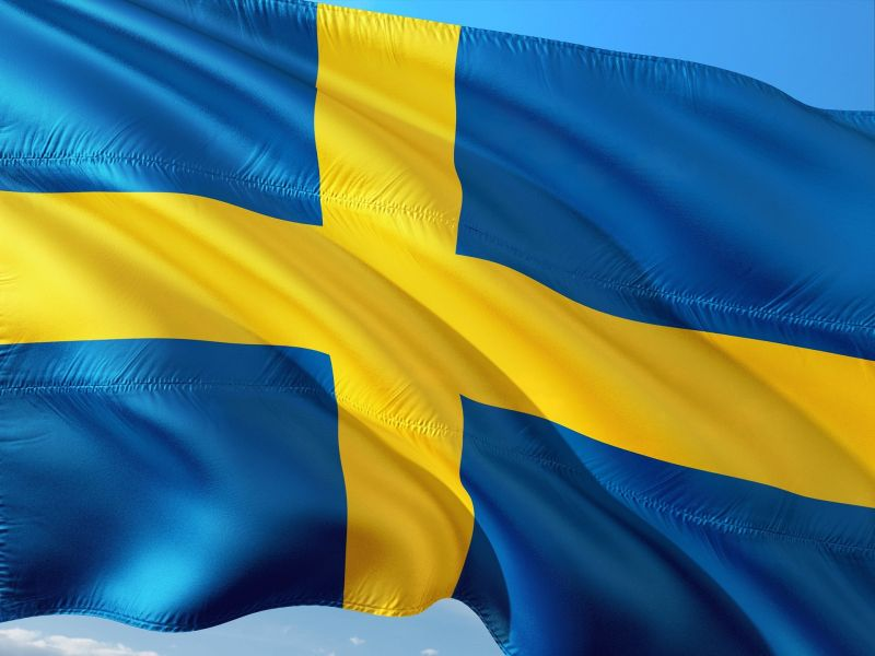 A man armed with an axe injured eight people in Sweden